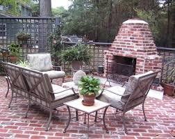 outdoor fireplace grill and plans brick