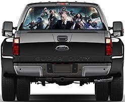 X Men Rear Window Decal Graphic Sticker Car Truck Suv Van Marvel 409