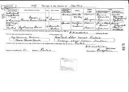 Marriage of Thomas & Ivy Edwards