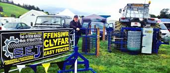 Watch The Fencing Machine Invented By Teenage Farmer In Mid Wales North Wales Live