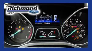 ford escape what do my dash lights