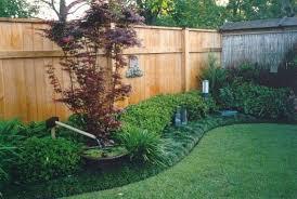 Beautiful Landscape Fence 9 Landscaping Ideas Along Fence Fence Landscaping Backyard Fences Landscaping Along Fence