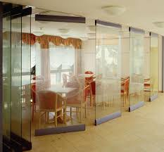 profile movable glass partition wall