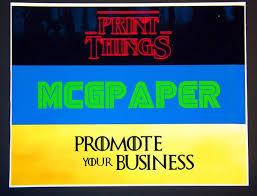 Bumper Stickers Blank White Vinyl Paper Mcgpaper