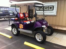 Clemson Custom Cart Gas Golf Carts Golf Push Cart Custom Golf Carts