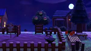 My Pumpkin Patch Realdy For Tomorrow Using The Fence As A Gate Was Not My Idea Its So Genius Animalcrossing