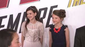 Young 'Ant-Man' actress on entering 'the family business' - YouTube