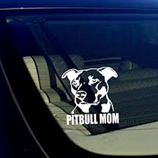 Amazon Com Sticker Connection My Pit Ate Your Stick Figure Family Pitbull Bumper Sticker Decal For Car Truck Window Laptop 2 7 X8 White Automotive
