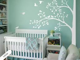 89 Mean Tree Decals For Nursery Walls Design White Baby Room Girl Birch Vamosrayos