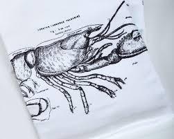 Lobster Cotton Napkin Set of 4 ...