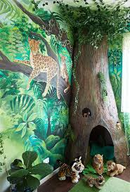 Home Decorating For Kids My Daughter S Jungle Room Makeover Jungle Room Kids Jungle Room Jungle Room Decor