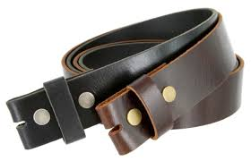 oil tanned leather concho golf belt