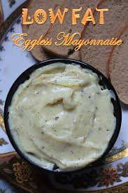 eggless mayonnaise recipe low fat
