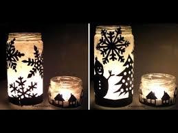 in a jar diy candle holder