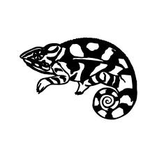 Chameleon Lizzard 2 Vinyl Sticker