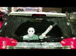 Wipertags A Us Based Company Has Launched A Halloween Collection Of Horror Themed Wiper Attachments That Window Decals Bumper Stickers Car Decals Stickers