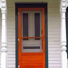 how to make perfect closing screen doors