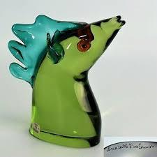 murano glass horse head seguso