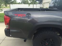 Product 2 Trd Punisher Edition Truck Car Decal 2 Color Vinyl Decal Outdoor Vinyl