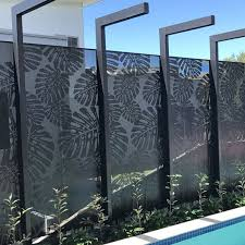 Keenhai Outdoor Aluminum Garden Fence Panel