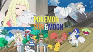 Pokemon Sun and Moon anime review ep 12, 13, and 14 lillie and vulpix -  YouTube