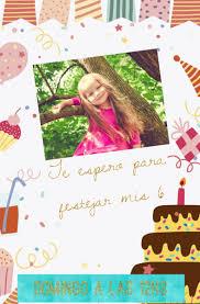 Tarjeta Virtual Invitacion Infantil Whatsapp Cumple Nenas 199
