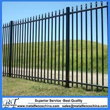 Tow Rail Wrought Iron Fence