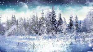 winter snow animated wallpaper