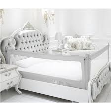 2 Set Of Queen Size Bed Safety Bed Guardrail Bed Fence For Children Toddlers Infants Grey Color Walmart Canada