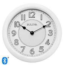 lighted dial wall clock by bulova clocks