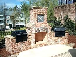 brick outdoor fireplace shaverspares co