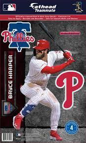 Fathead Philadelphia Phillies Bryce Harper Wall Decal Dick S Sporting Goods