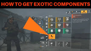 the division 2 how to get exotic
