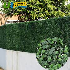 Uland Artificial Grass Boxwood Hedge Balcony Panels Plastic Garden Fence Greenery 12 Pcs 50x50cm Pc Wall Decora Privacy Screen Boxwood Hedge Garden Fence Screensboxwood Panel Aliexpress