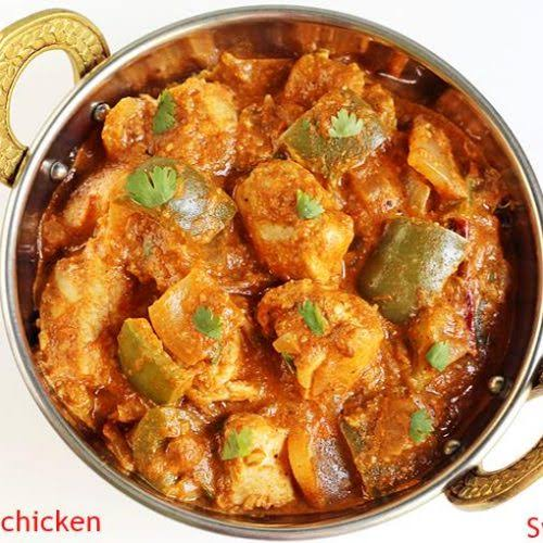 Kadai Chicken Curry