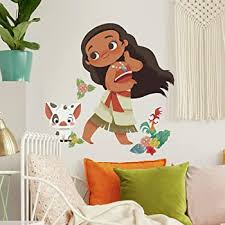 Roommates Vintage Moana Peel And Stick Giant Wall Decals Amazon Com