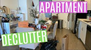 apartment declutter with me tips
