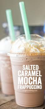 salted caramel mocha frappuccino a