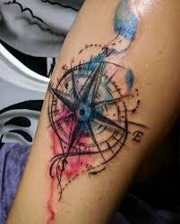 Tatuaz Windrose Ponad 100 Pomyslow Na Zdjeciu Wartosc Szkice
