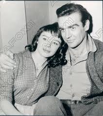 1959 Actor Sean Connery & Actress Janet Munro Press Photo | eBay