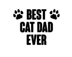 Cat Dad Decal Etsy