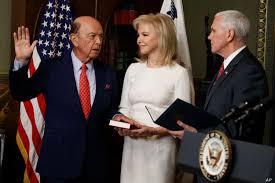 Wilbur Ross Sworn In as US Secretary of Commerce | Voice of America -  English