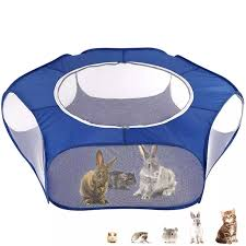 Portable Pet Playpen Outdoor Indoor Mini Game Folding Fence For Small Animals Cage Tent Toys Aliexpress