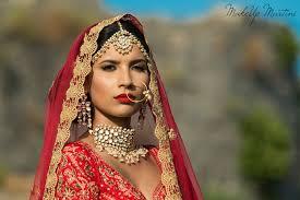 clic north indian bridal makeup look
