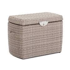 small outdoor garden rattan storage