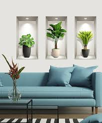 Ambiance Tropical Plant Wall Decal Set Of Three Best Price And Reviews Zulily