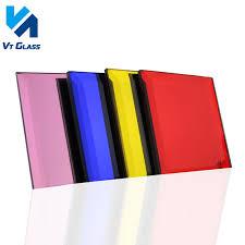 colored mirror glass aluminum float
