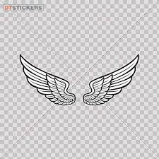 Amazon Com Hobby Vinyl Decal Angel Wings Hobby Decor 6 X 5 57 In Fully Waterproof Printed Vinyl Sticker Kitchen Dining