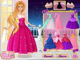 barbie princess barbie dress up game