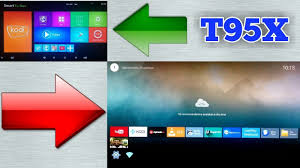 Leanback Launcher On Android TV Box T95X 2 GB